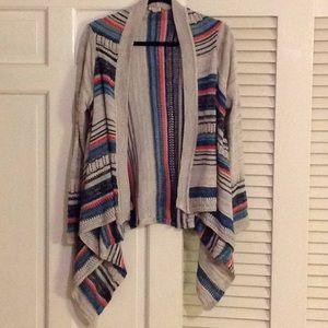 Eyeshadow brand striped sweater